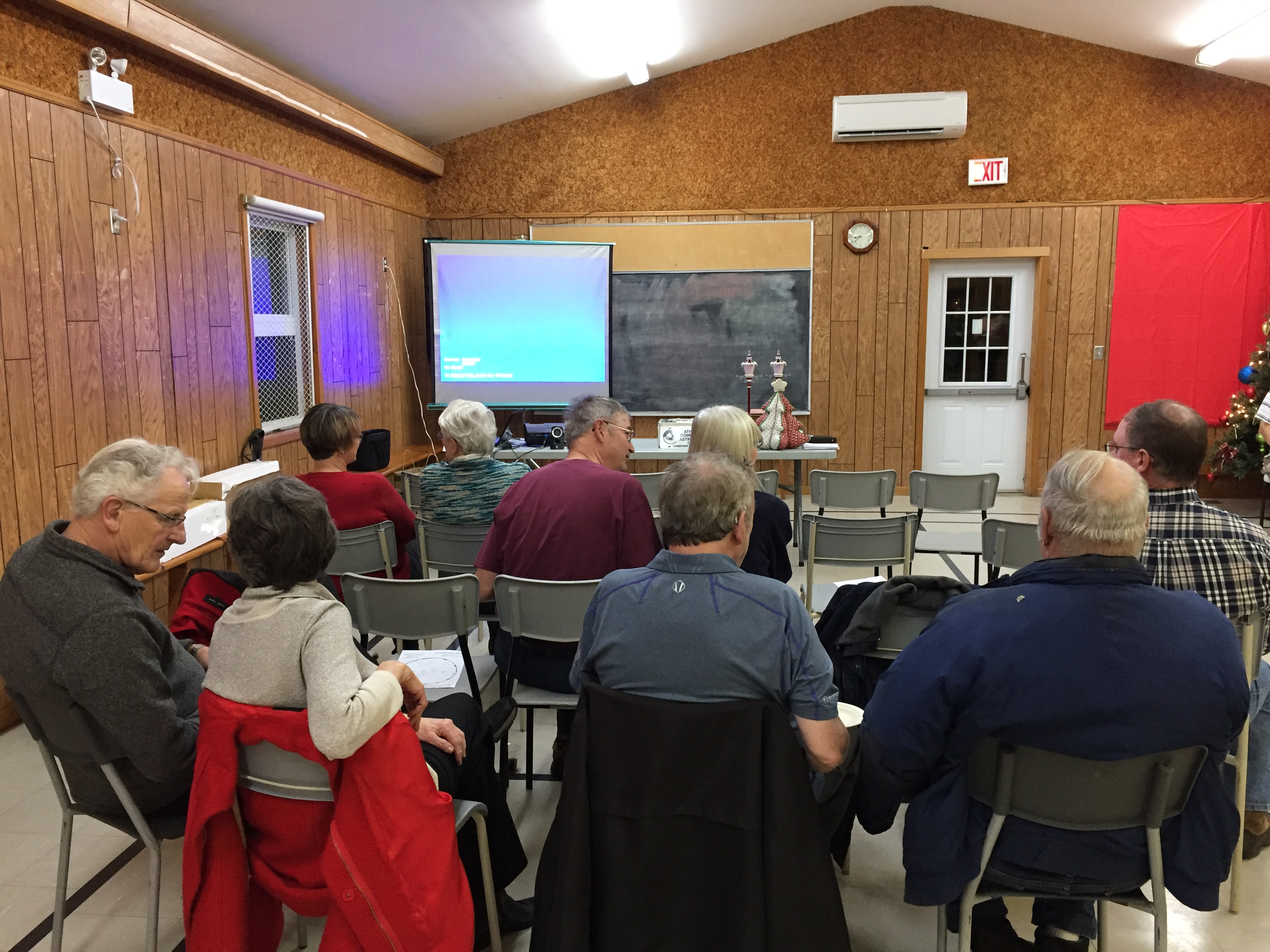 Monthly Meeting - Athena Community Astronomy Club